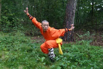34e generatie Shaolin discipel Shi Yan Qiang