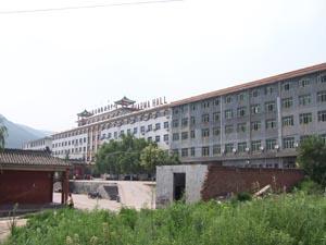 Tagou Kungfu/Wushu school naast het Shaolin klooster