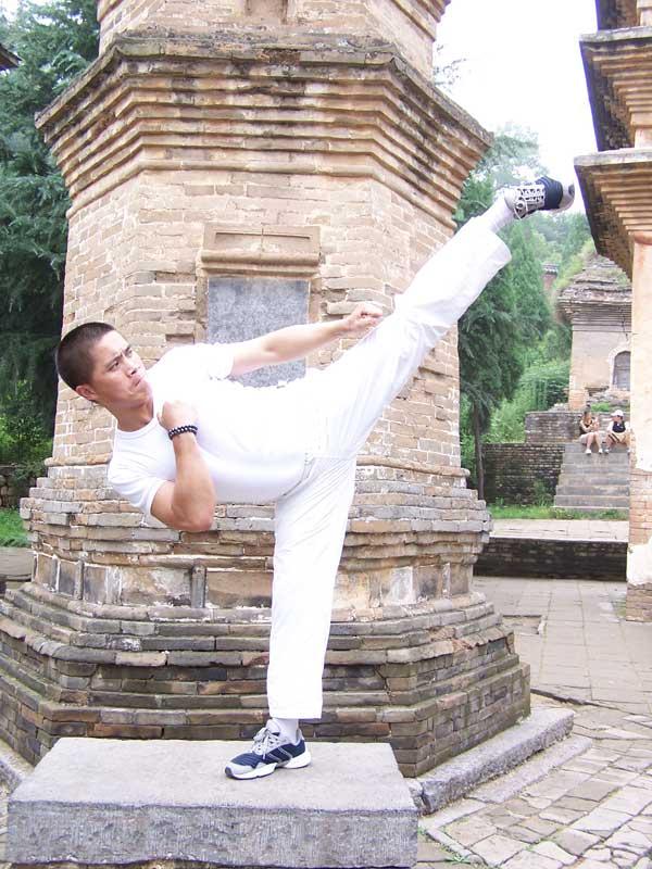 Shaolin discipel 34e generatie Tang Jin Wu