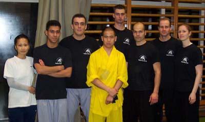 Groepsfoto seminar Zhang Li Peng