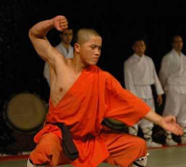 34e generatie Shaolin discipel Shi Yan Wu