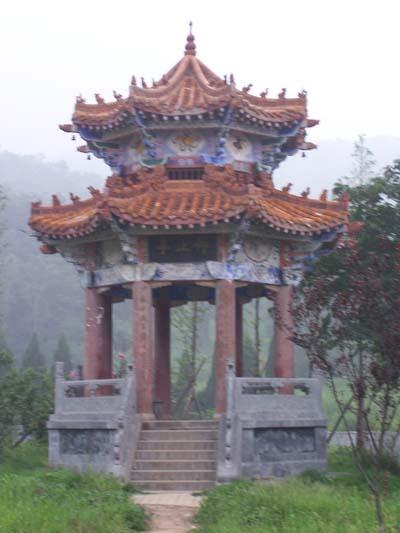 Pagode in de buurt van de Shaolin Tempel